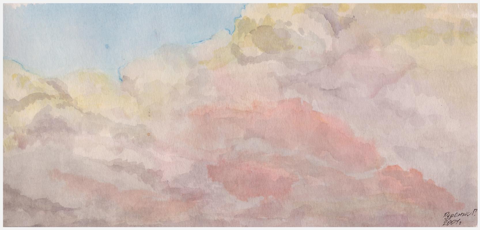 Gennady Vladimirovich Rudenko. Clouds