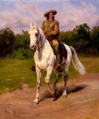 Роза Бонёр. Верхом на белом коне