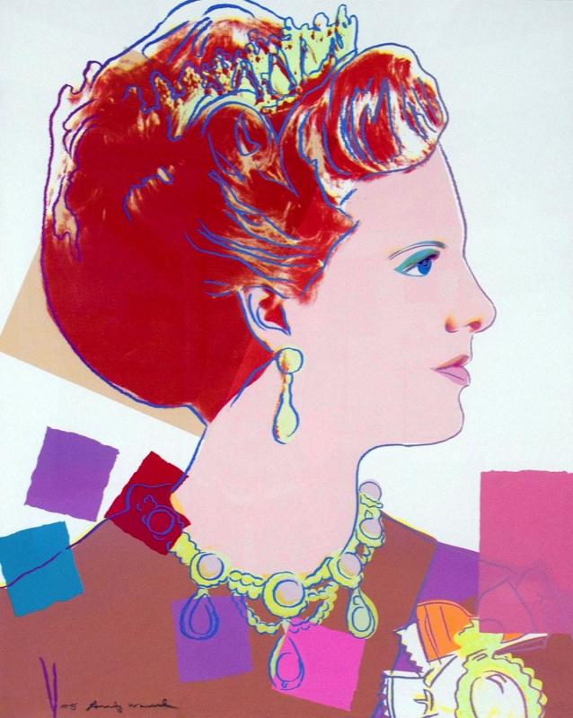 Энди Уорхол. Королева Маргрет II