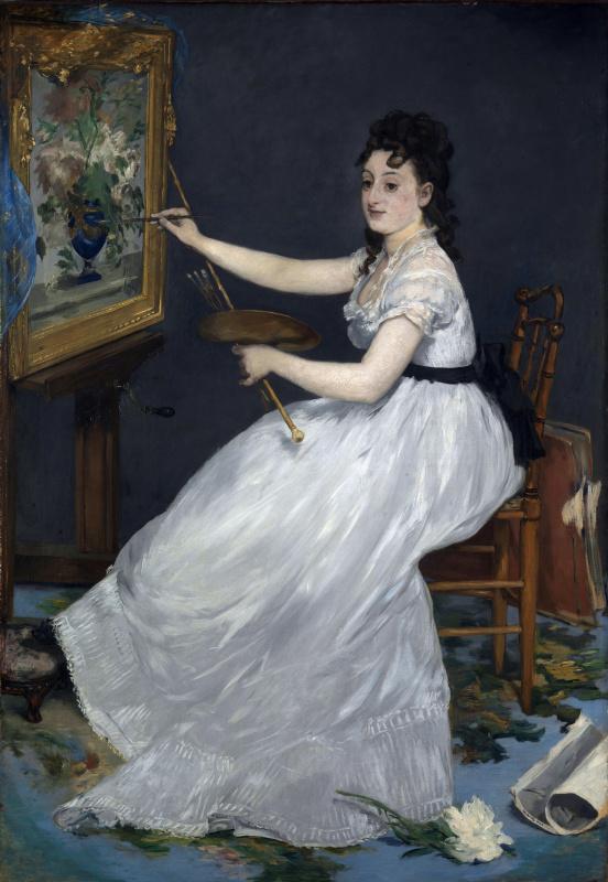 Edouard Manet. Eva Gonzalez