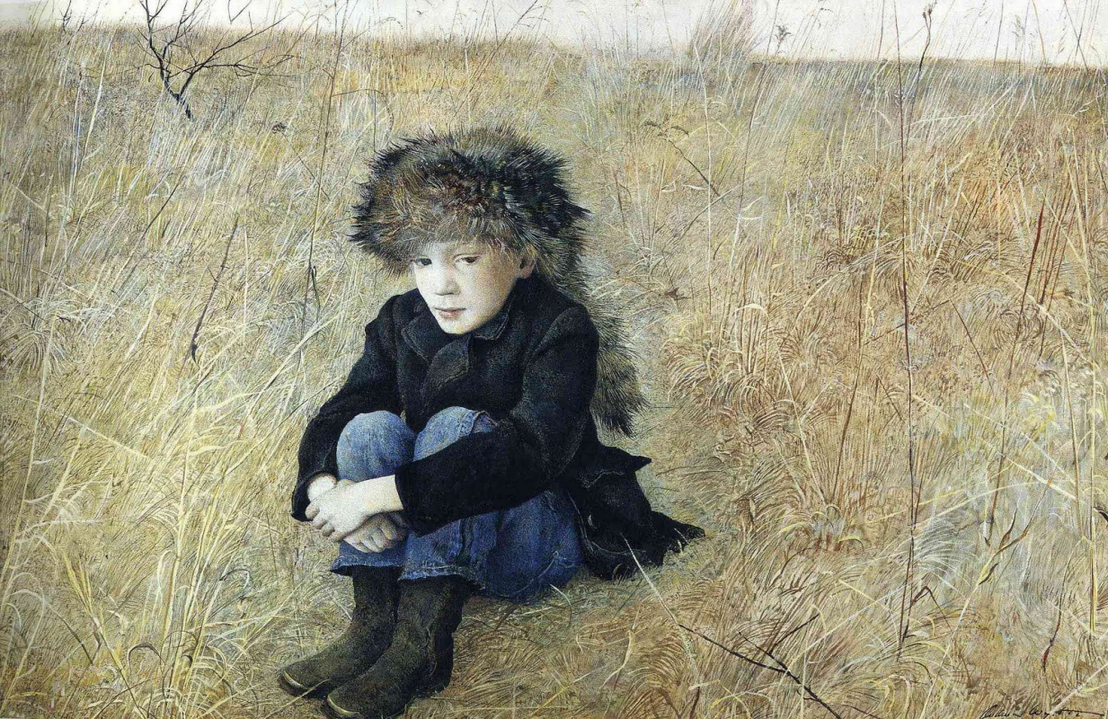 Andrew Wyeth. Away from home