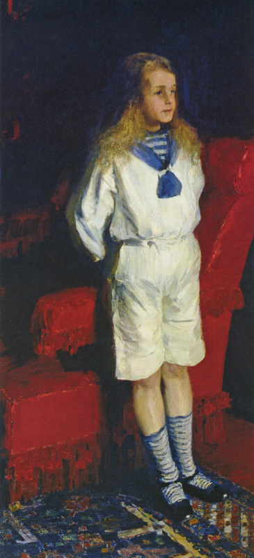 Philip Andreevich Malyavin. Portrait of a boy