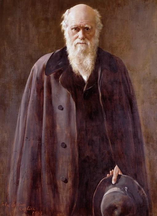John Collier. Charles Darwin