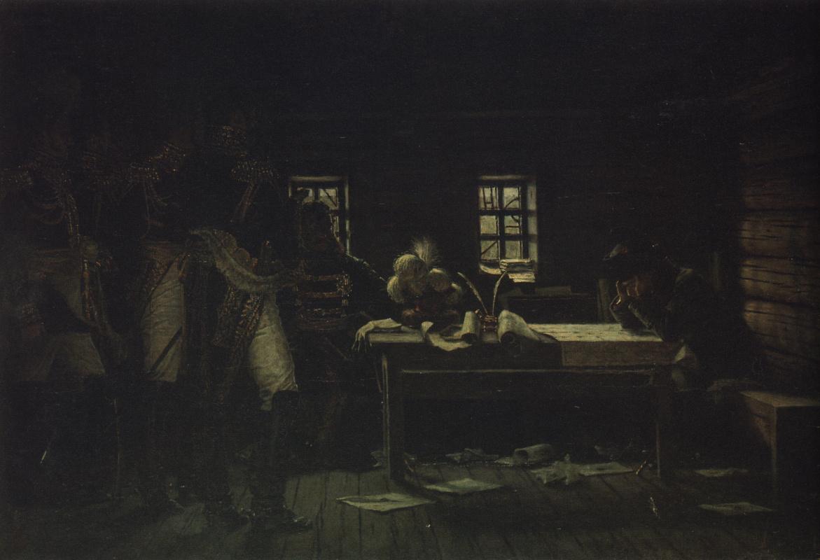 Василий Васильевич Верещагин. В Городне - пробиваться или отступать?