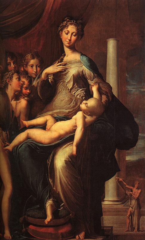 Пармиги. Дева с младенцем