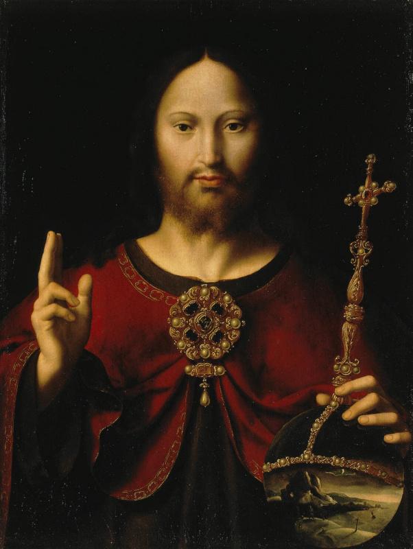 Херонимо де Бобадилья. Христос Спаситель