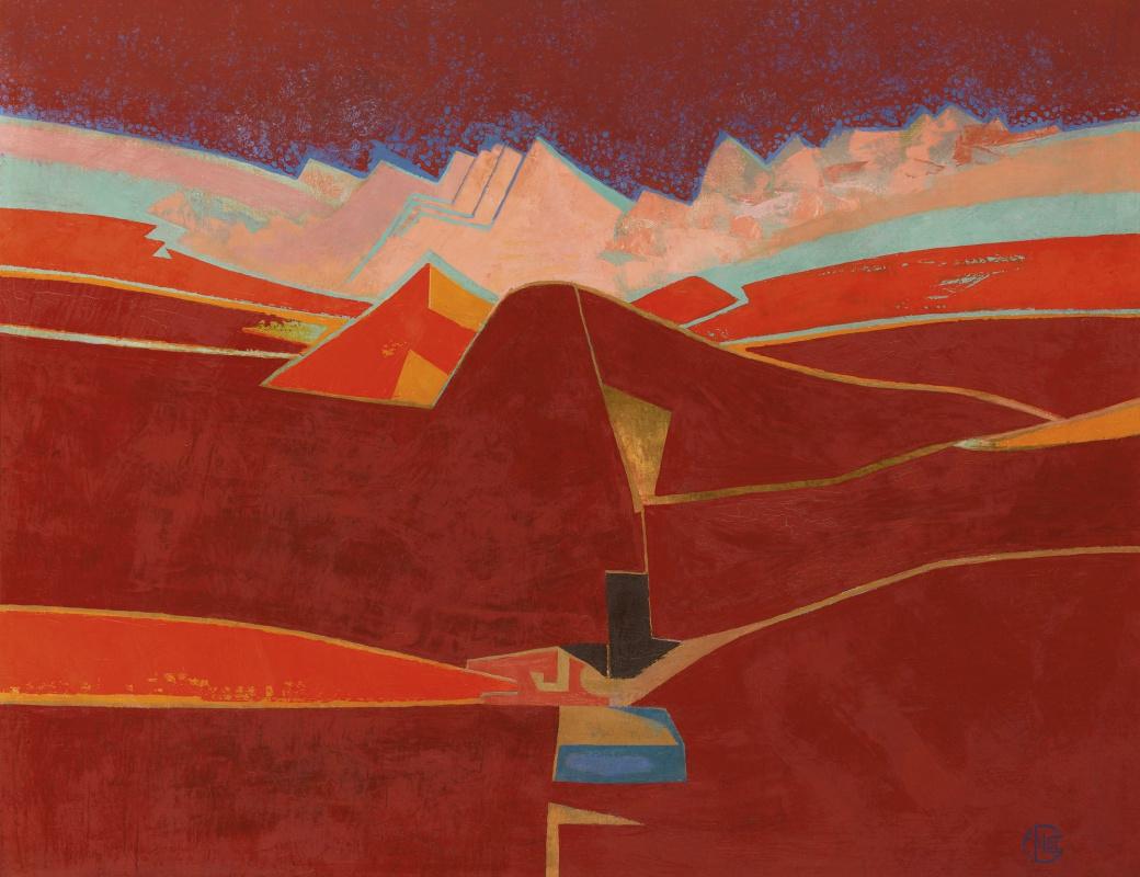 Francoise Gilo. Magic mountain