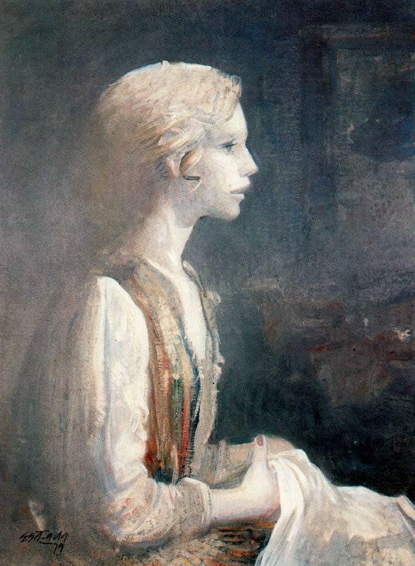 Адольфо Эстрада. Профиль женщины