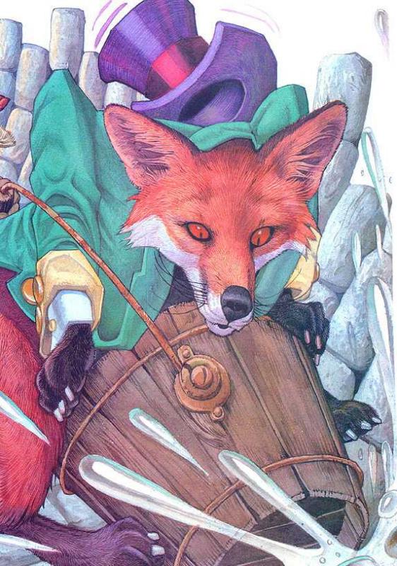 Иллюстрация к сказке Братец Кролик 012