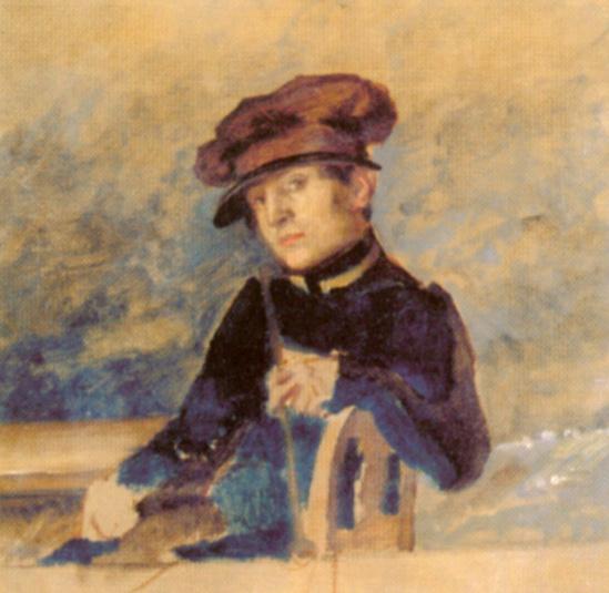 Alexander Andreevich Ivanov. Self-portrait