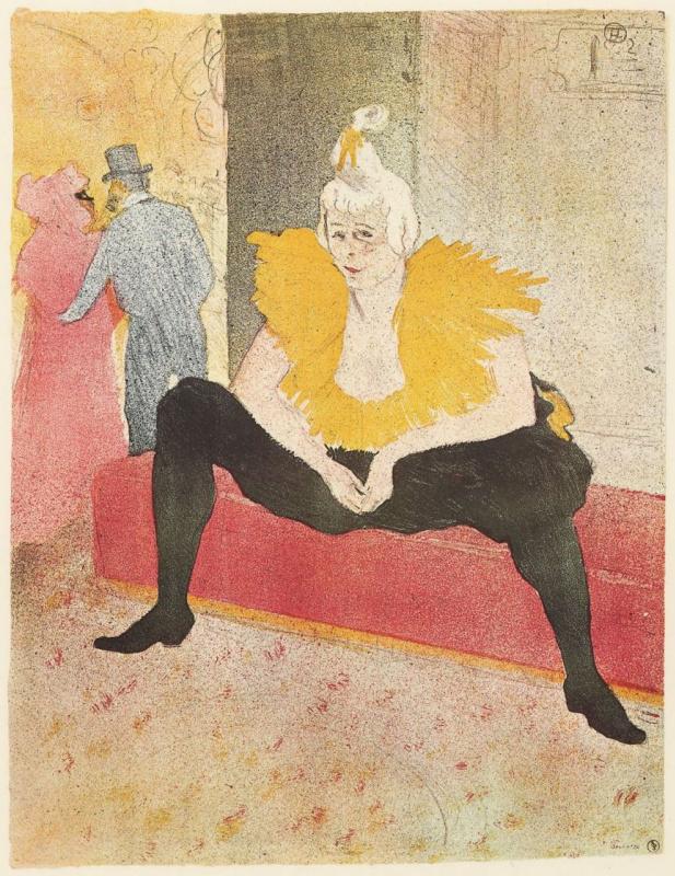 Henri de Toulouse-Lautrec. Clown Sha-U-Kao