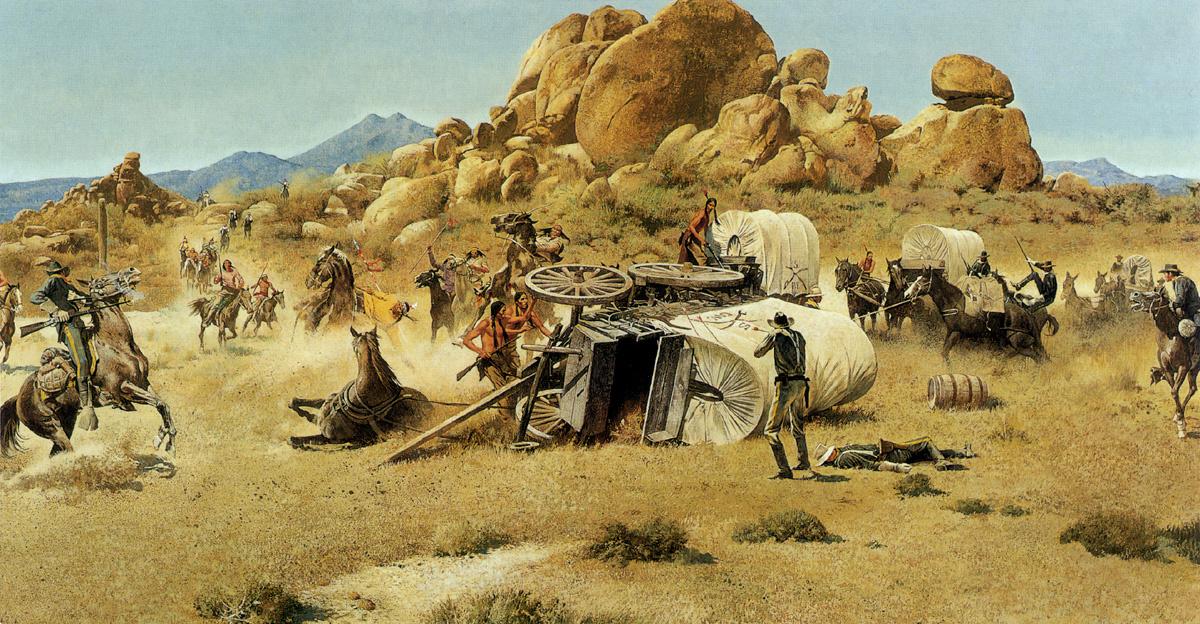 Robert McGinnis. West battle