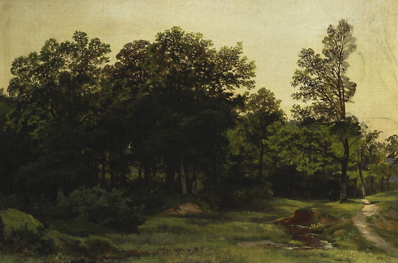 Ivan Shishkin. Deciduous forest