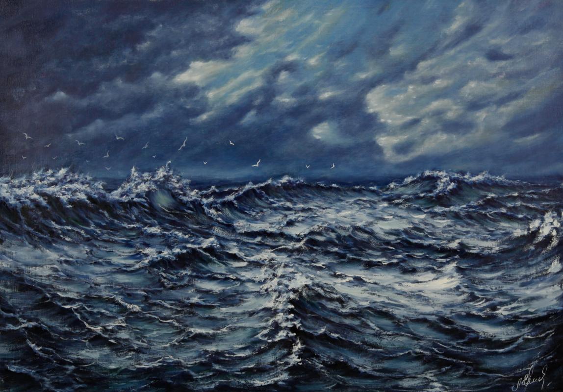 Valery Levchenko. No. 103 Storm