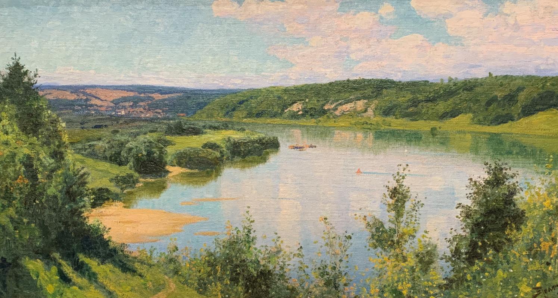 Vasily Dmitrievich Polenov. Oka. Summer day