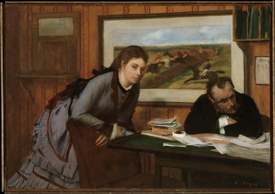 Edgar Degas. Hurt (Teething)