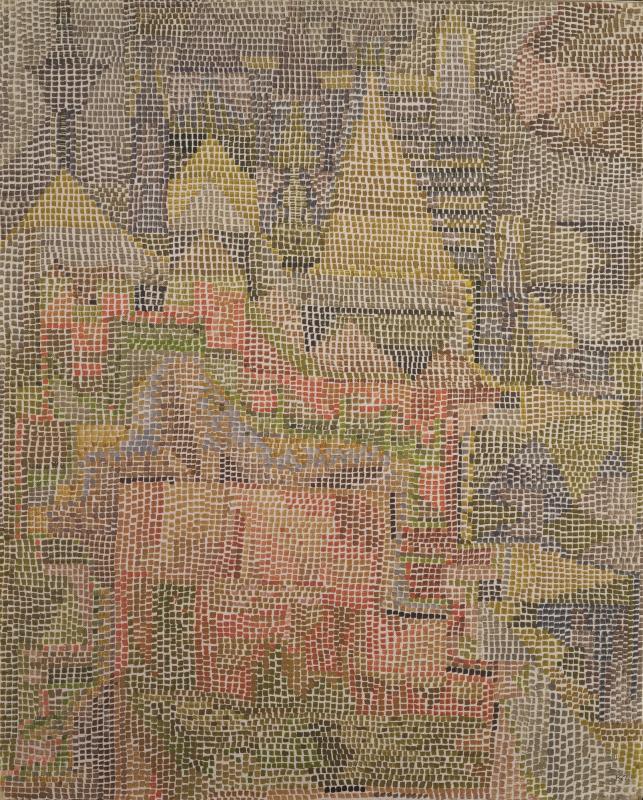 Paul Klee. Castle gardens