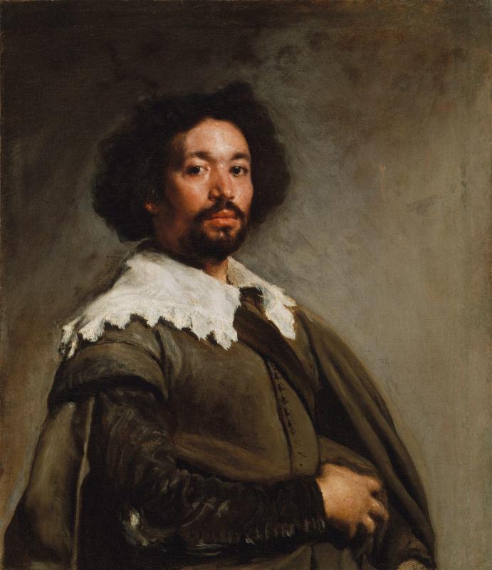 Diego Velazquez. Portrait of Juan de Pareja
