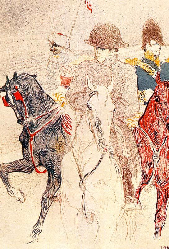 Анри де Тулуз-Лотрек. Наполеон Бонапарт