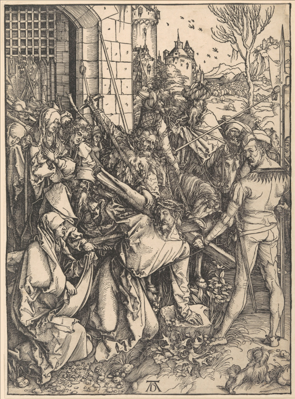 Albrecht Durer. Christ carrying the cross