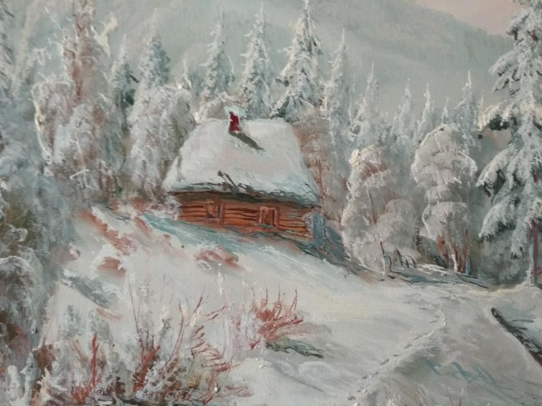 Victoria Andrusyak. Winter