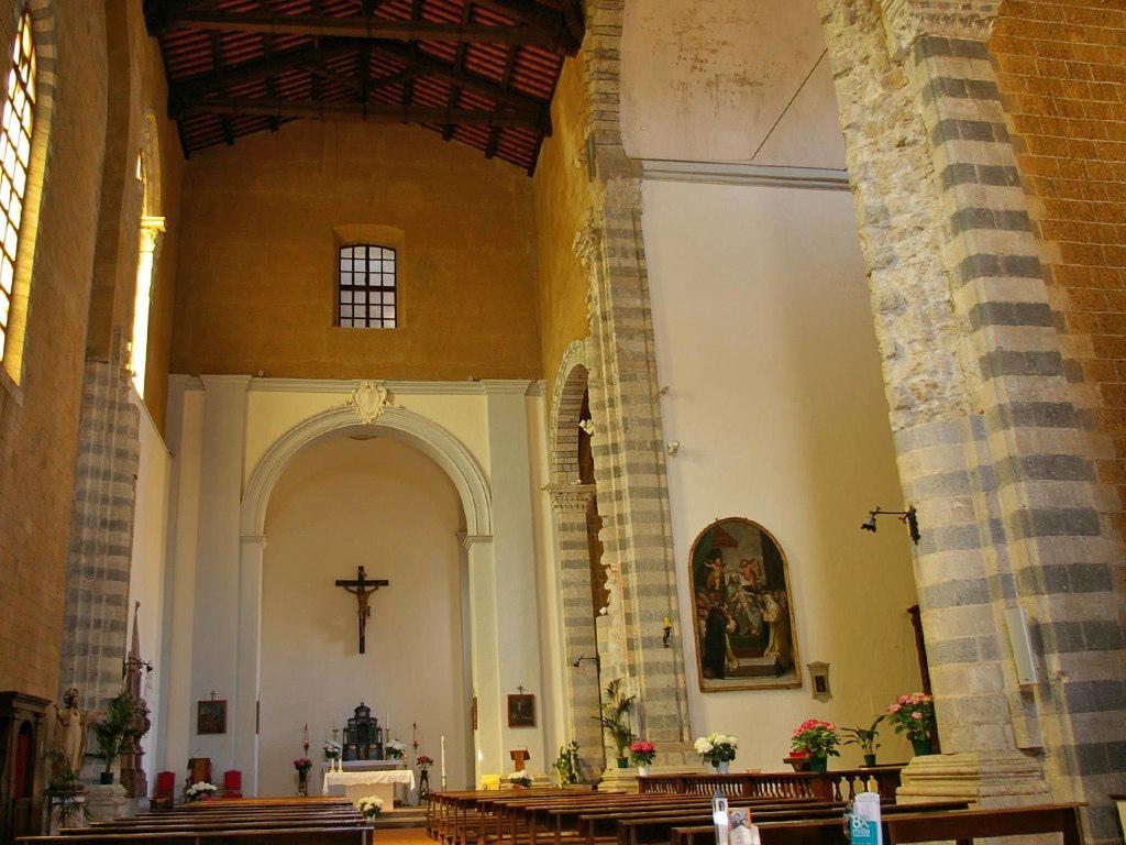 Church of San Domenico in Orviento