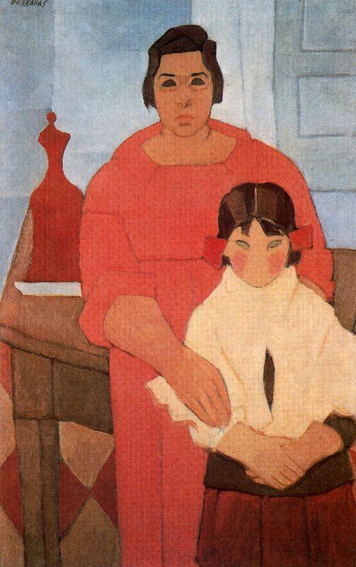 Рафаэль Баррадас. Мать и дочка