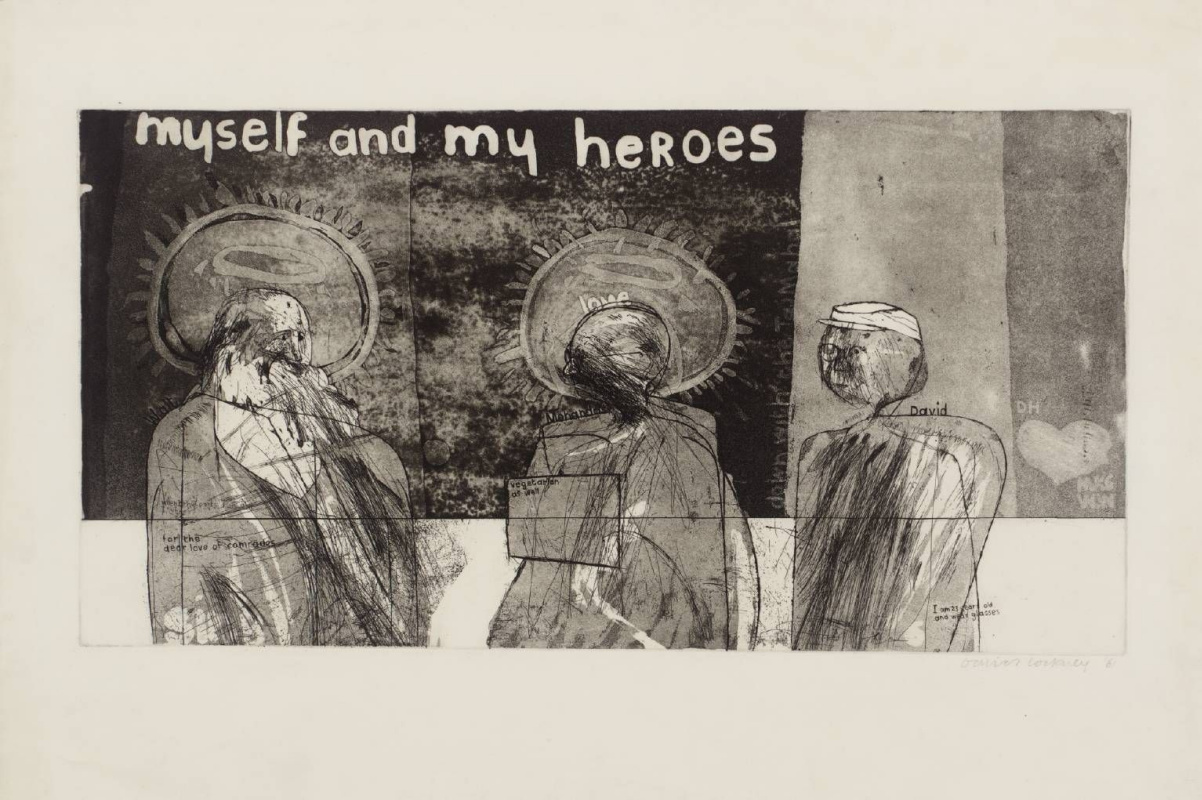 David Hockney. I and my heroes