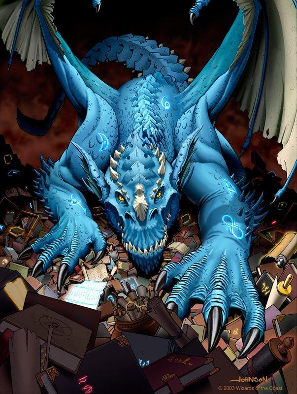 Скотт Джонсон. Синий дракон
