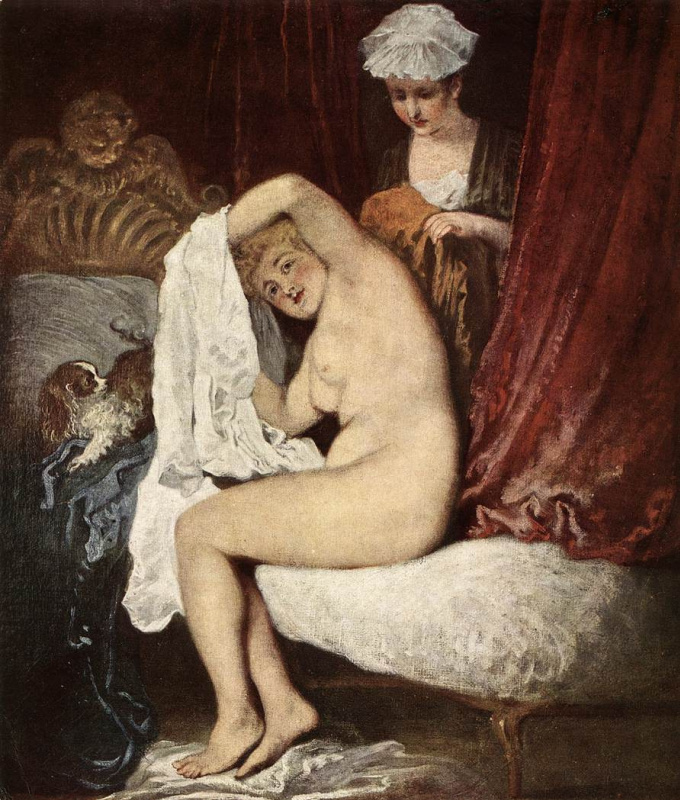 Антуан Ватто. Туалет