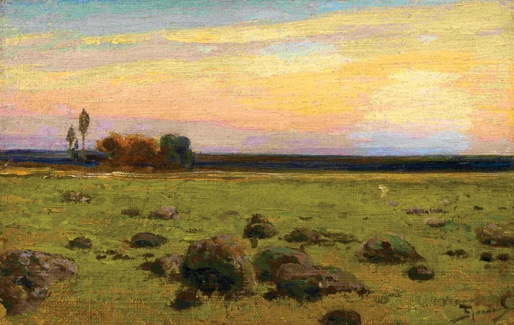 Vasily Polenov. Summer landscape