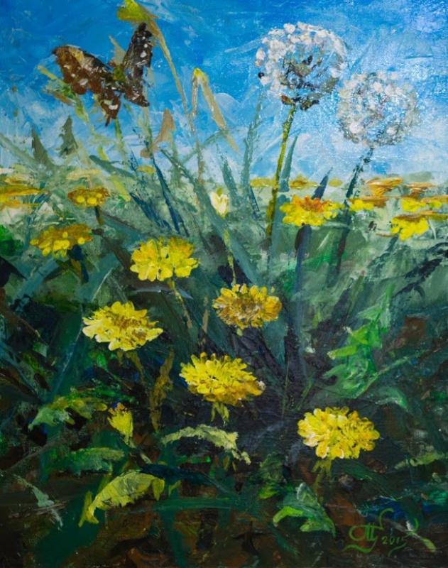 Sergey Petrovich Makeev. Dandelions