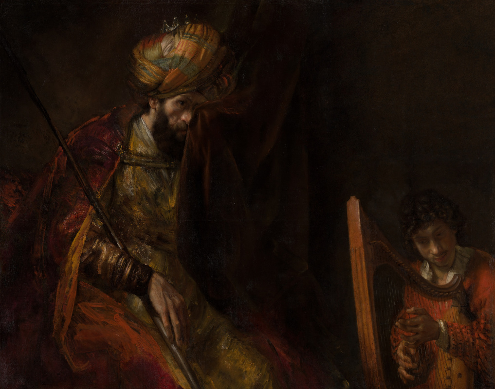 Rembrandt Harmenszoon van Rijn. Saul and David