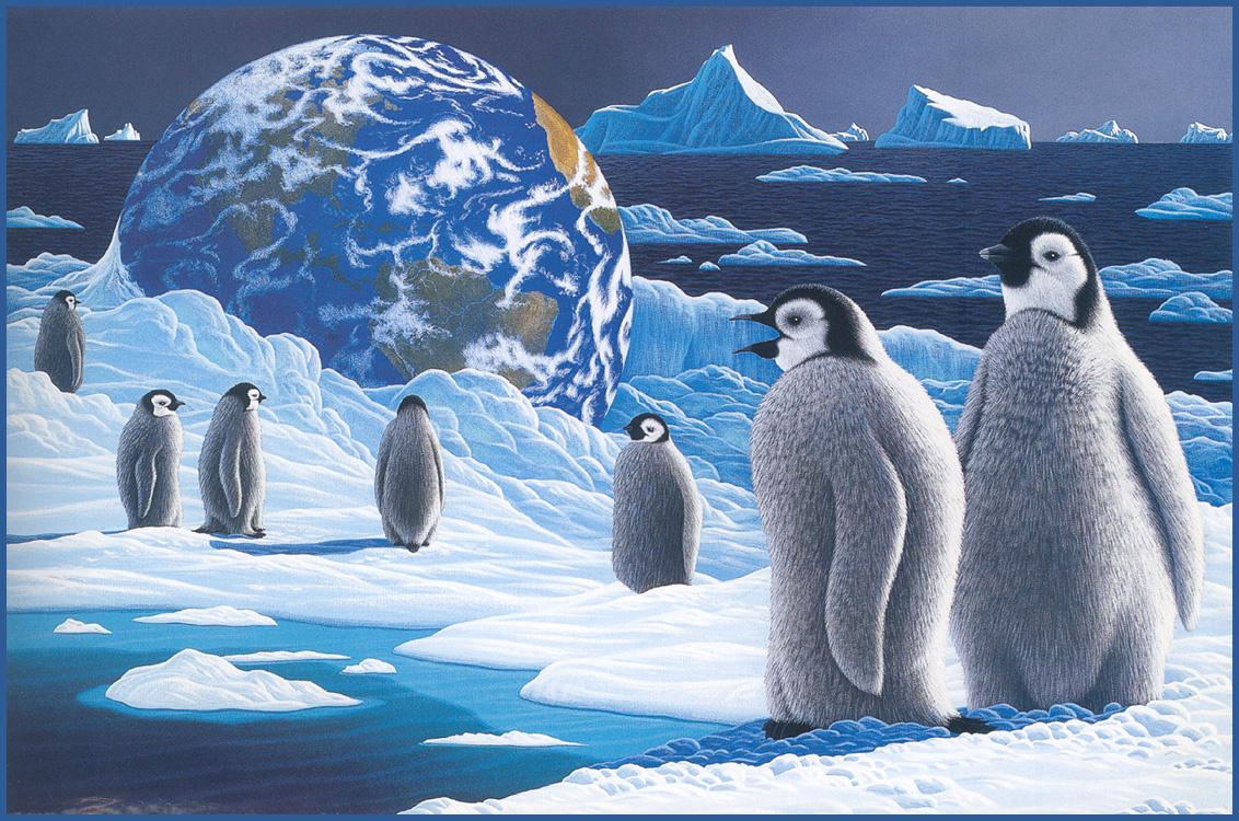William Schimmel. Children of the Antarctic