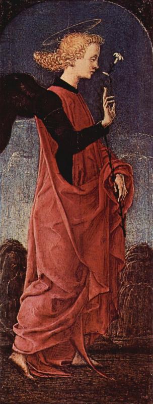 Козимо Тура. Благовествующий ангел