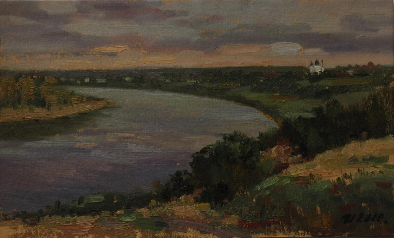 Anatoly Petrovich Ivasyutin. On the Volkhov.
