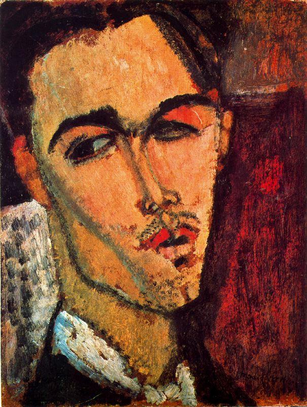 Амедео Модильяни. Портрет Чельсо Лагара .