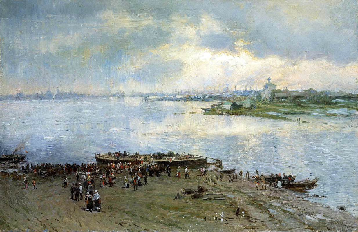 Александр Владимирович Маковский. Перевоз на Волге
