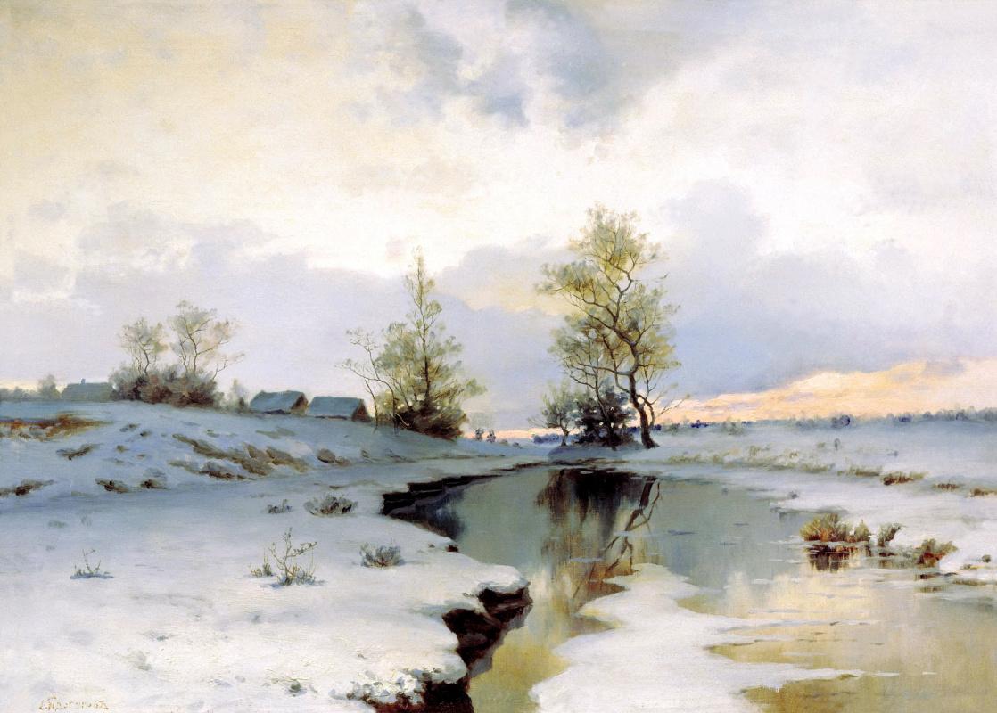 Иван Иванович Ендогуров. Начало весны