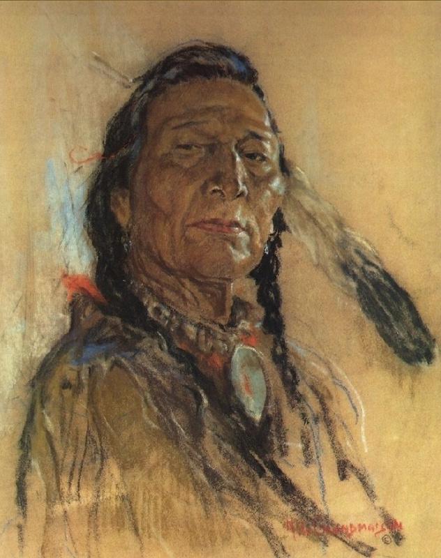 Индейский портрет 59
