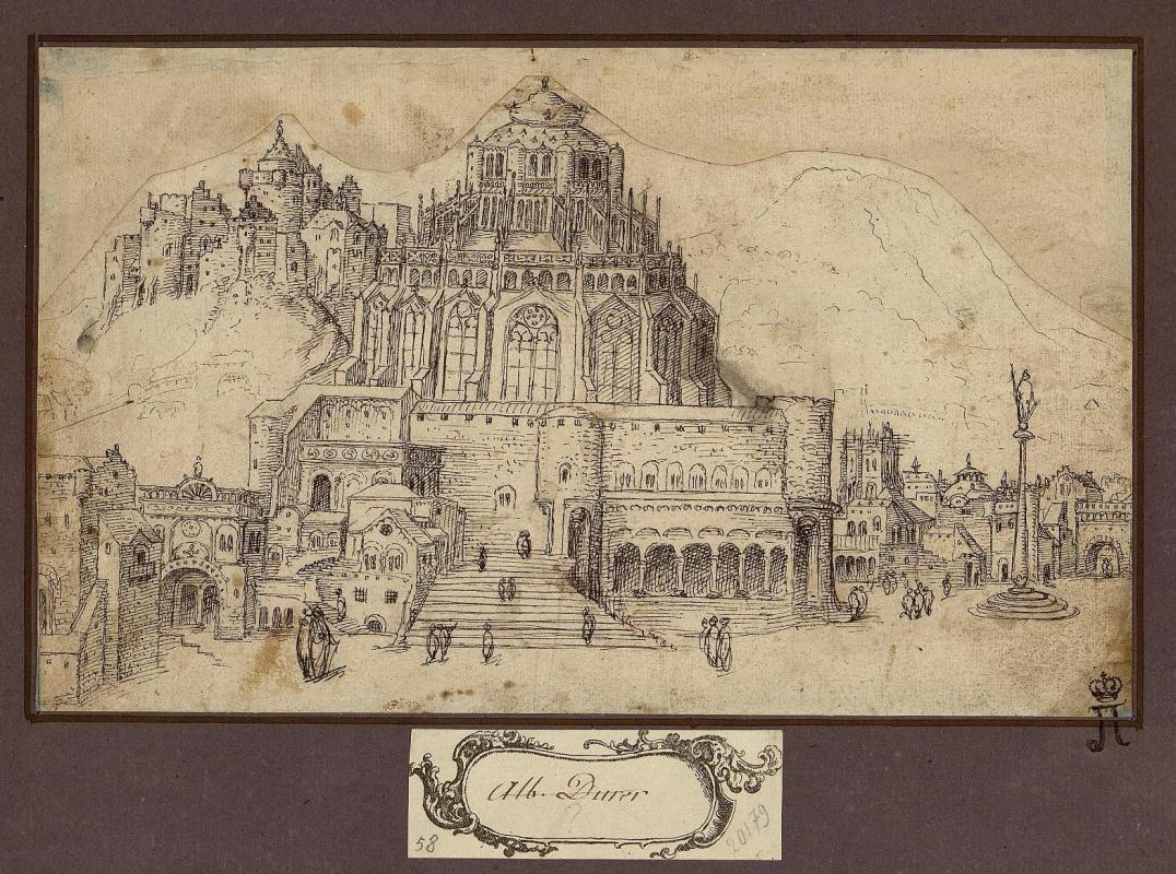 Albrecht Dürer. Castle