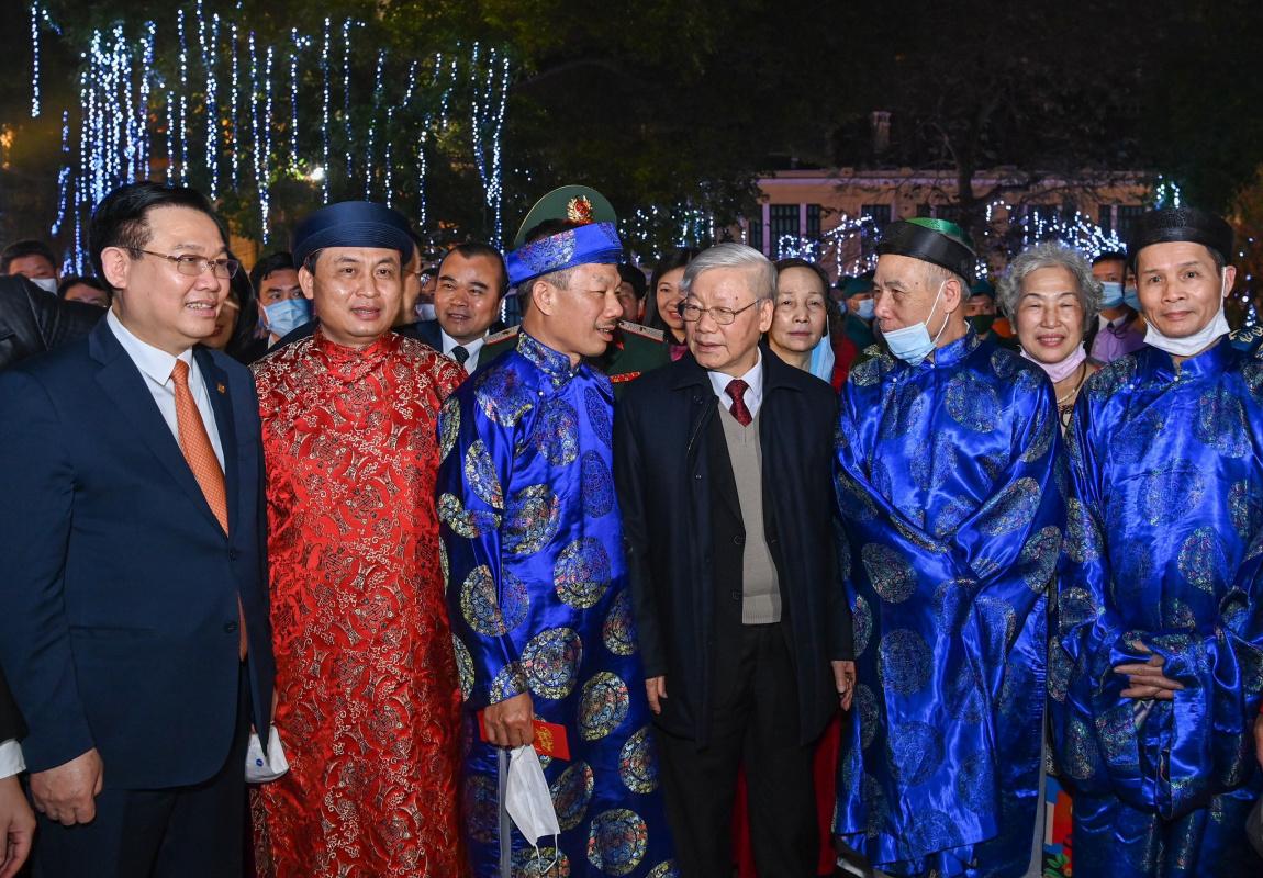 Quach Nhu. Festival on new year's eve (2016)