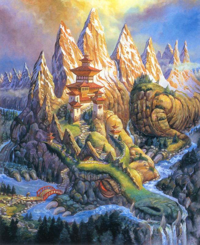 Барнард Брин. Драконьи горы