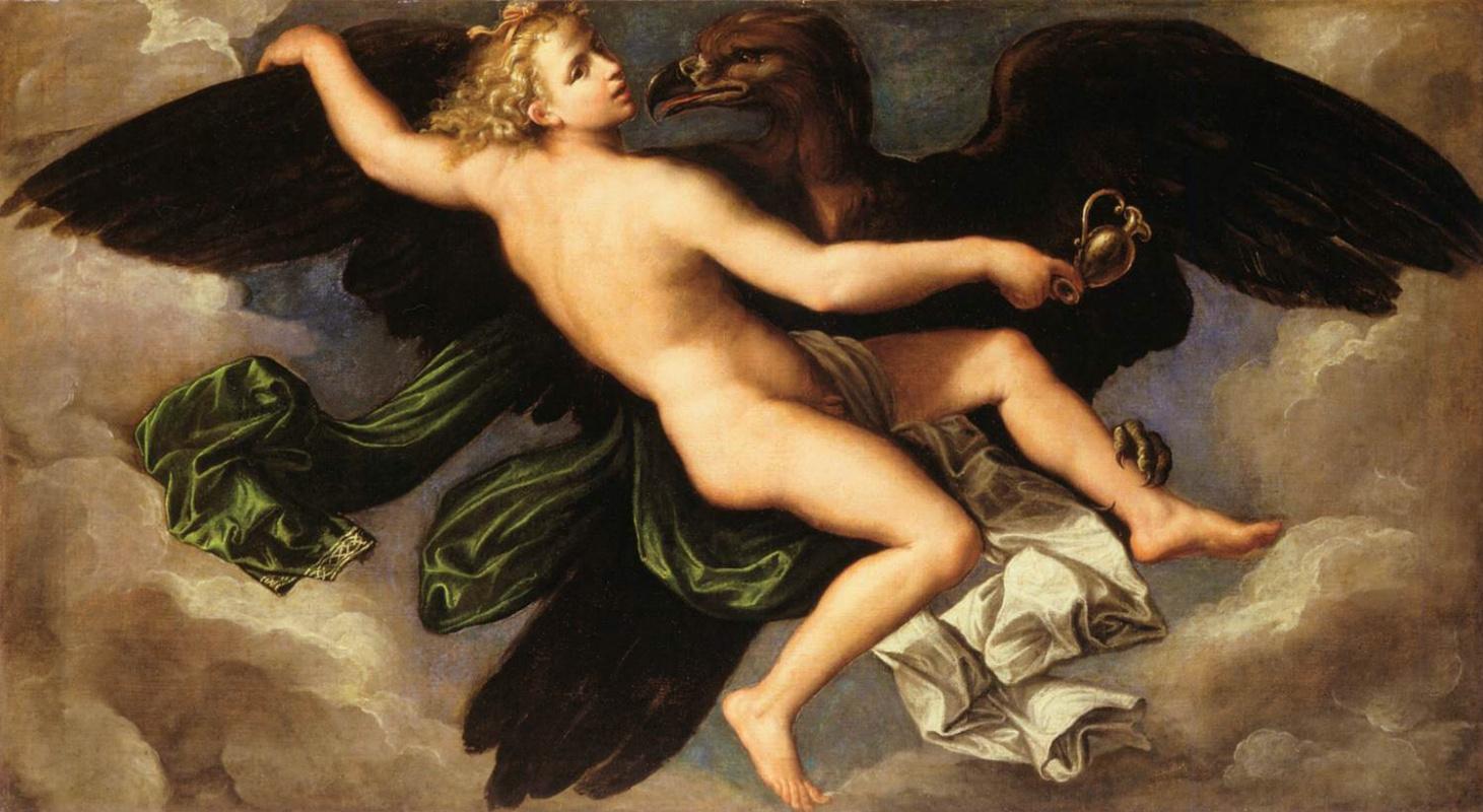 Girolamo yes Carpi. The Abduction Of Ganymede