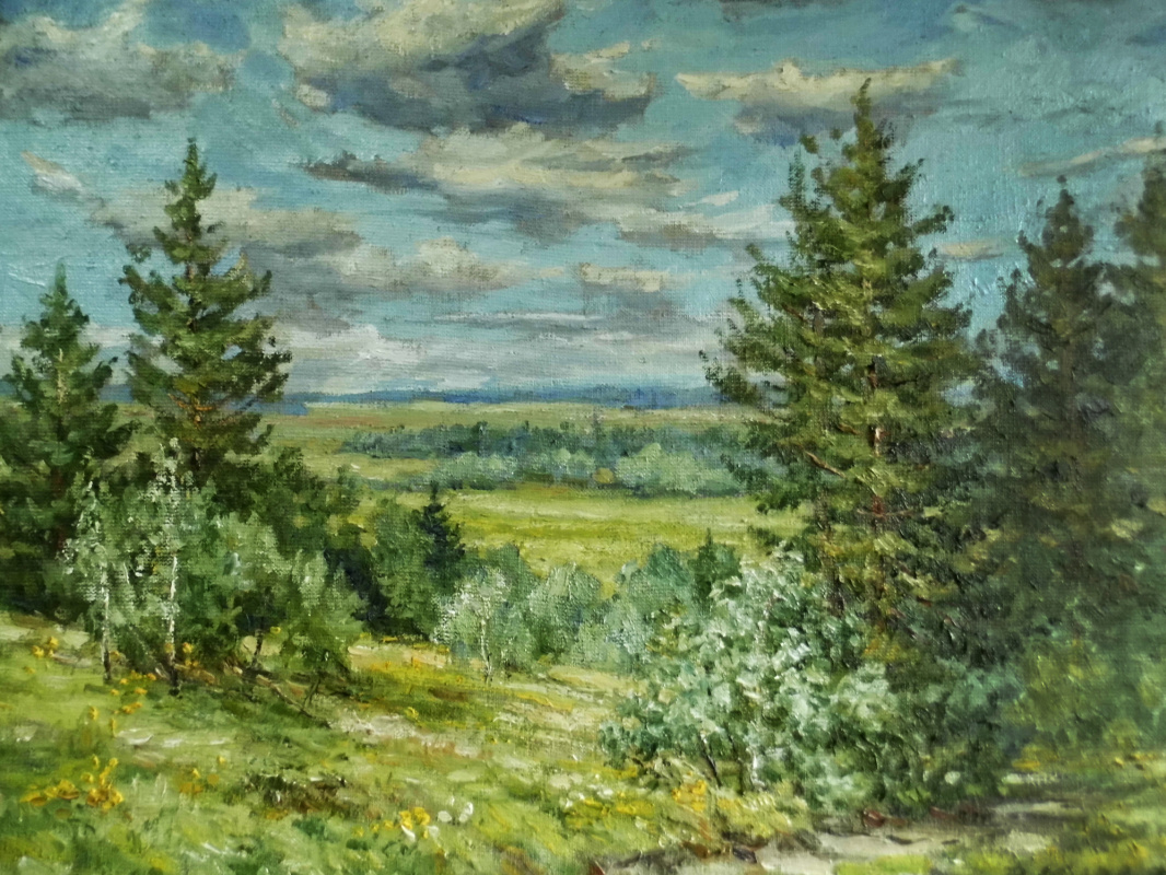 Victor Vladimirovich Kuryanov. Bright day