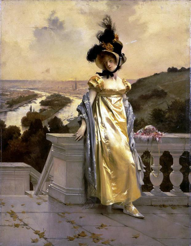 Франсуа Фламенг. Женский портрет