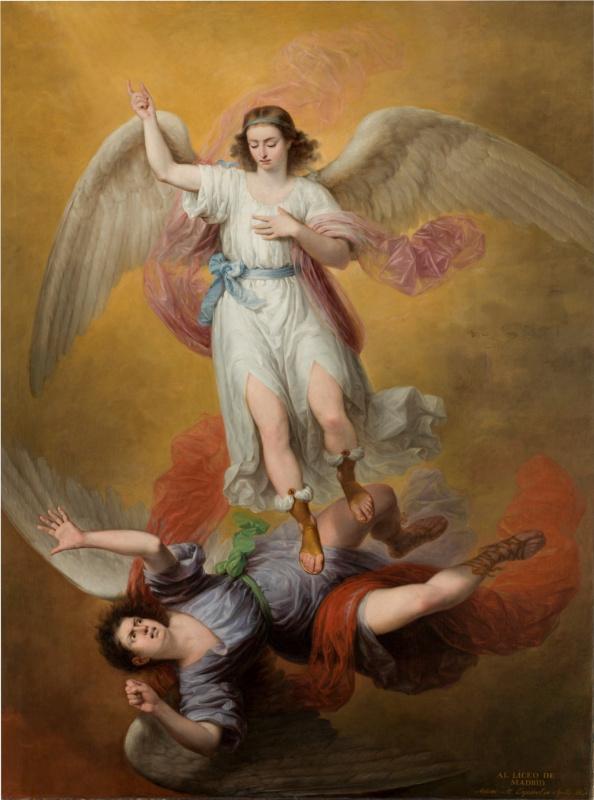 Антонио Мария Эскивель. Падение Люцифера