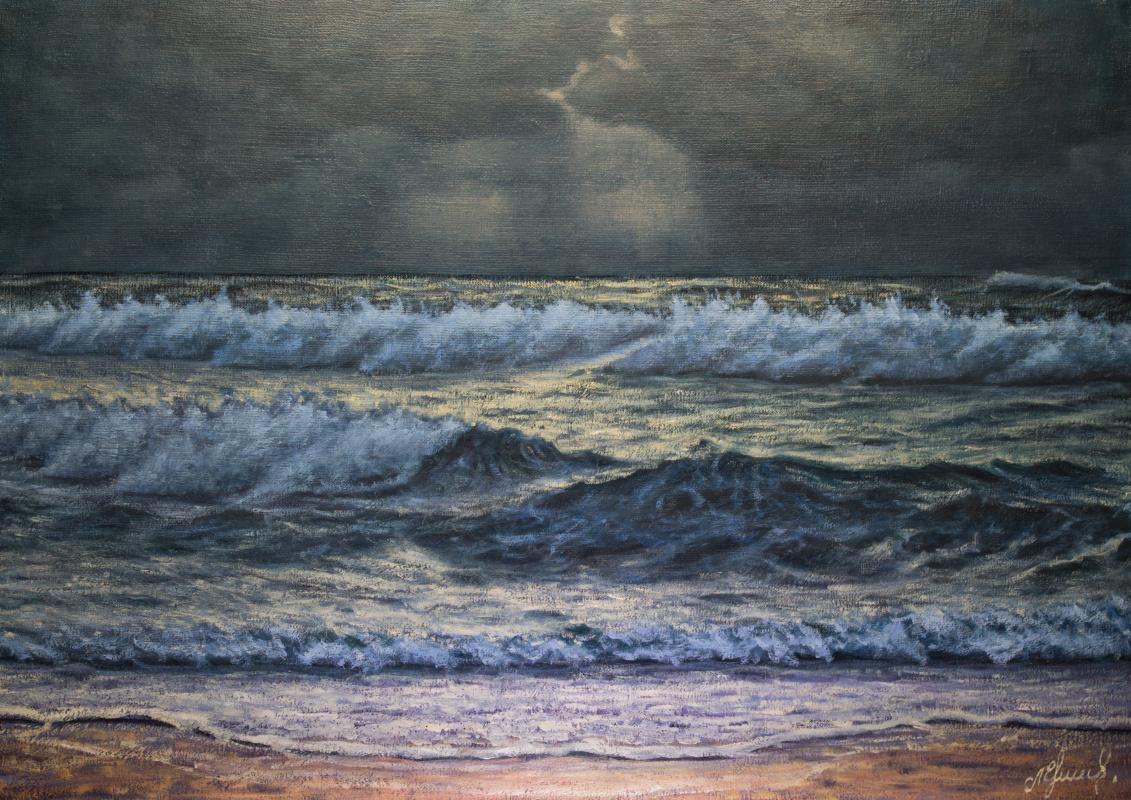 Valery Levchenko. No. 455 Seascape.