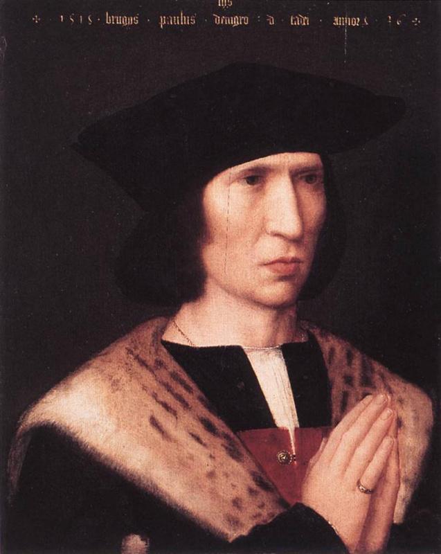 Адриан Изенбрант. Портрет Паулюса де Нигро