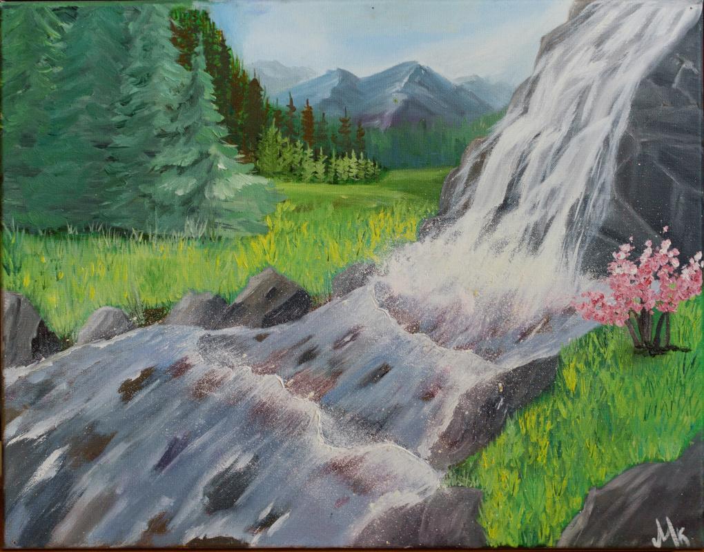 Maria Kozlovskaya. Waterfall